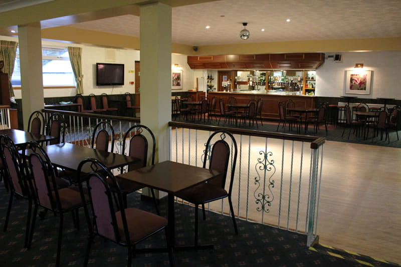 Function room with private bar
