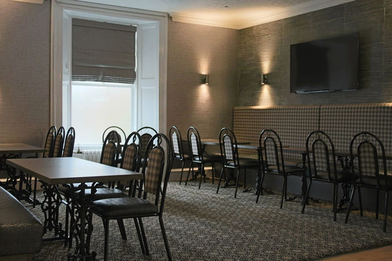 New seating Station Hotel Stonehaven Lounge Bar